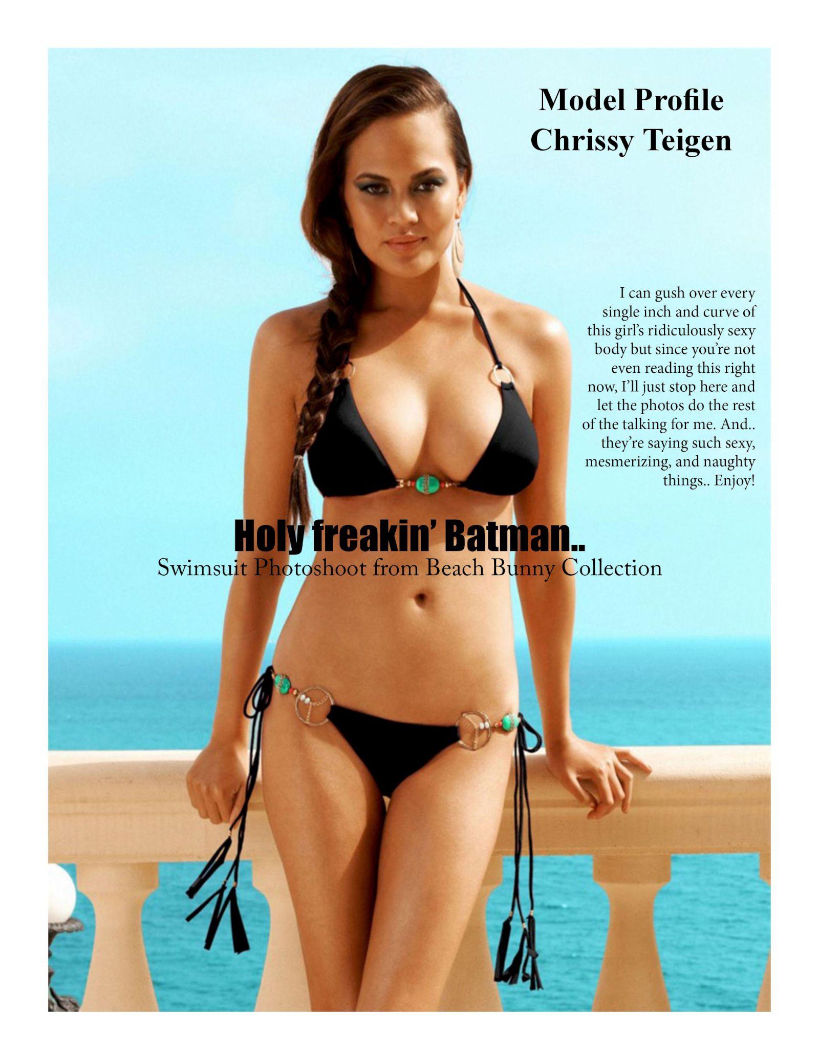 Chrissy Teigen Hot Celebs Home Joss Picture Cam