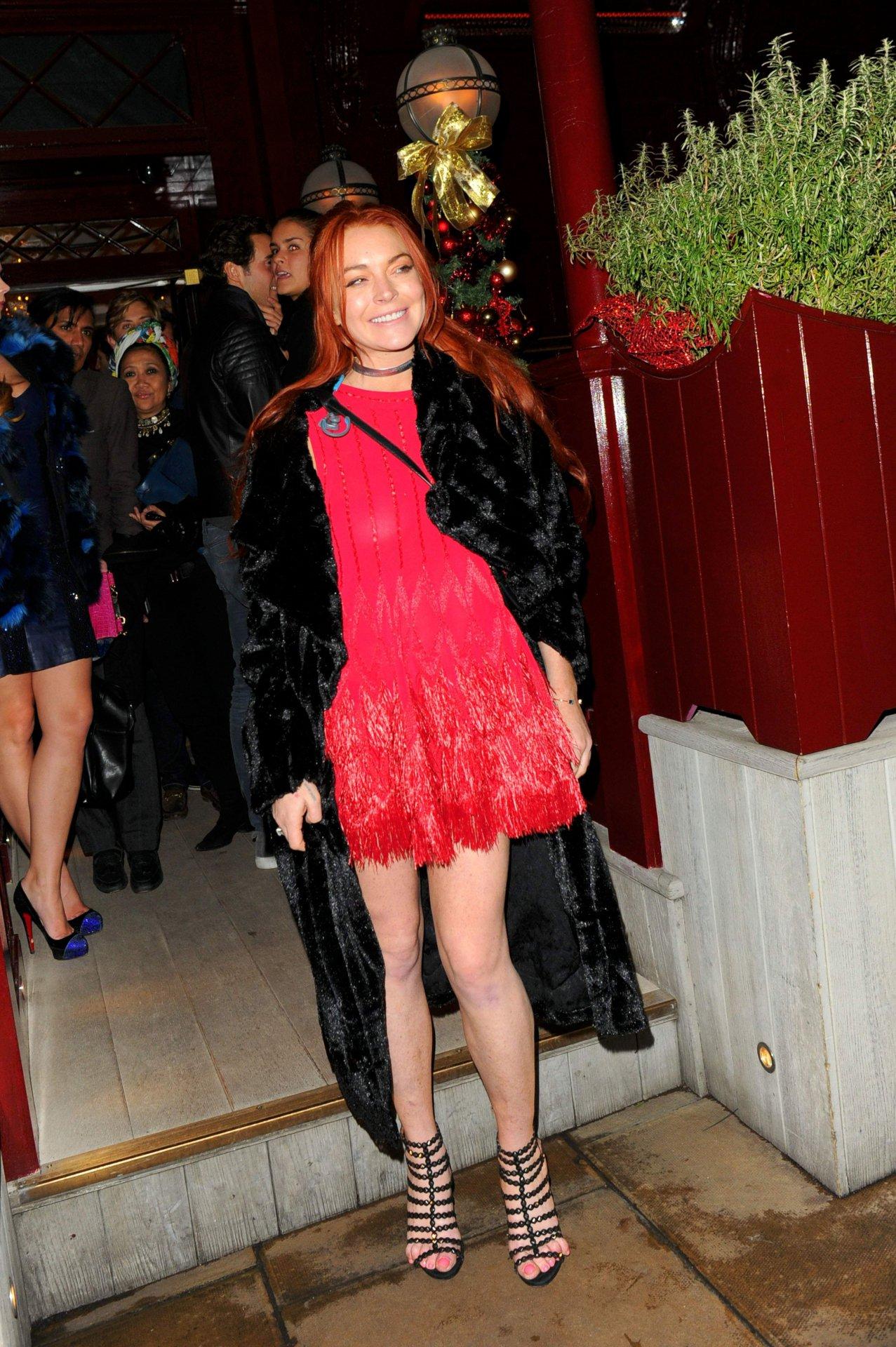 Playmate Jayde Nicole -- Lindsay Lohan Better Go Spread