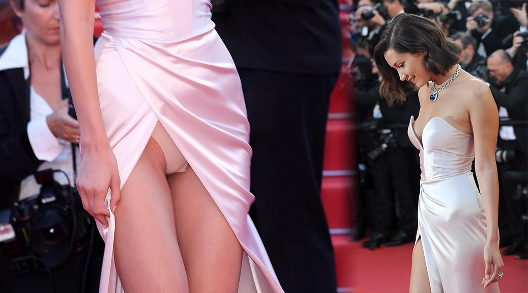 The exact moment anne hathaway heard about her naked upskirt picture