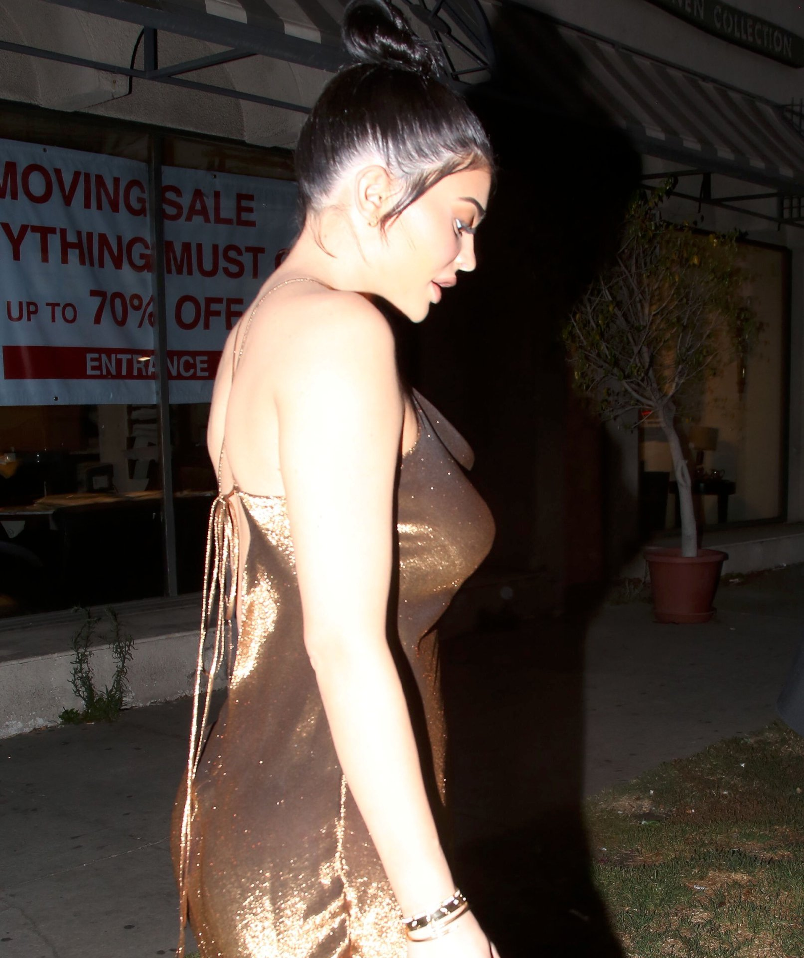 Kylie Jenner Shows Her Nips In A Wet Tshirt Video