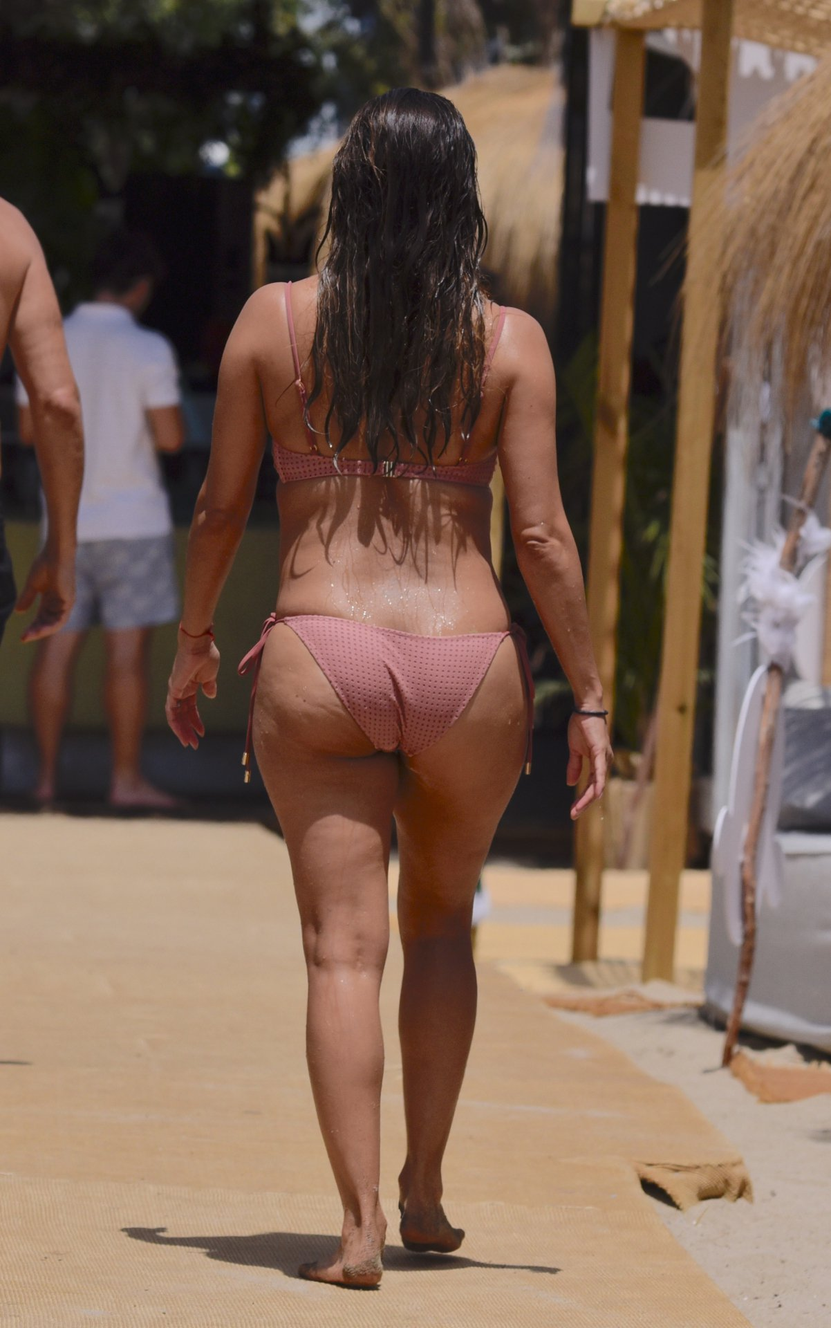Eva Longoria In A Bikini In Spain