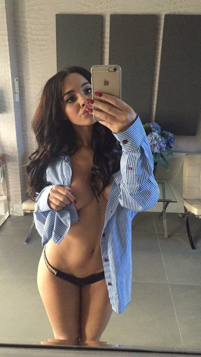 Blouse ripped off