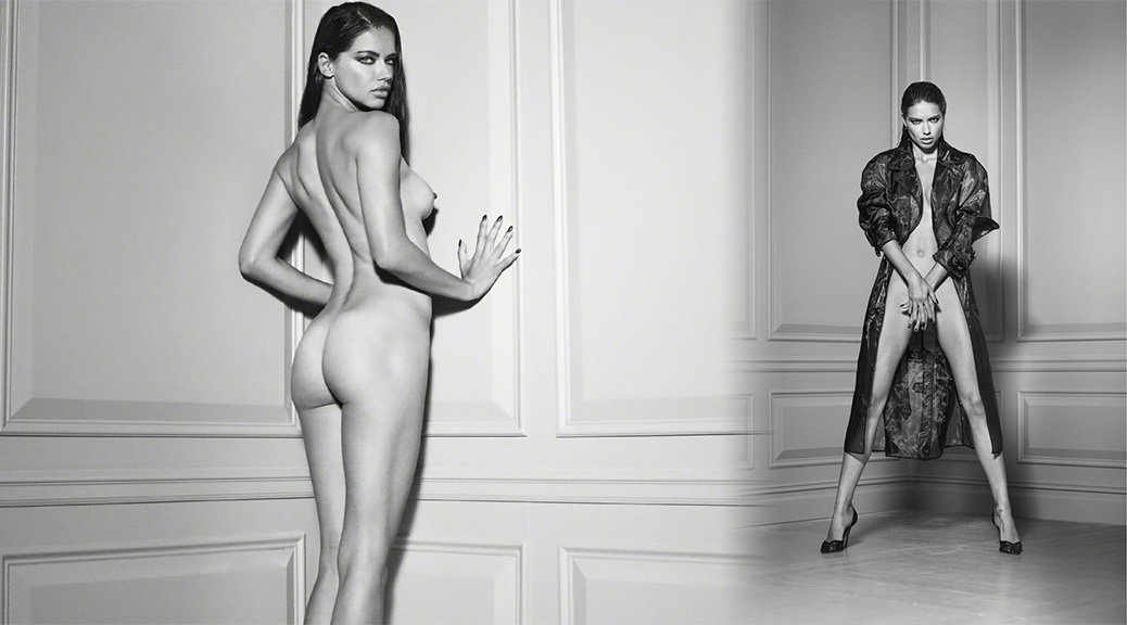 Jennifer Aniston, Naked And Tied, For Gq