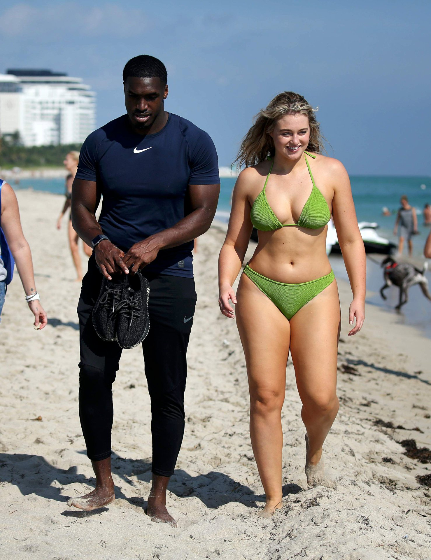 Iskra Lawrence Sexy Photoshoot At Beach   Hot Celebs Home