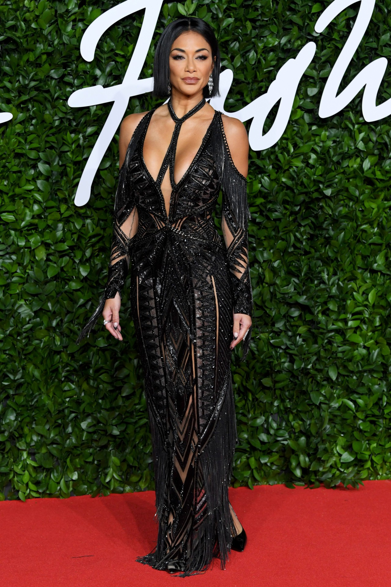 Nicole Scherzinger Sexy Boobs In Big Cleavage - Hot Celebs Home