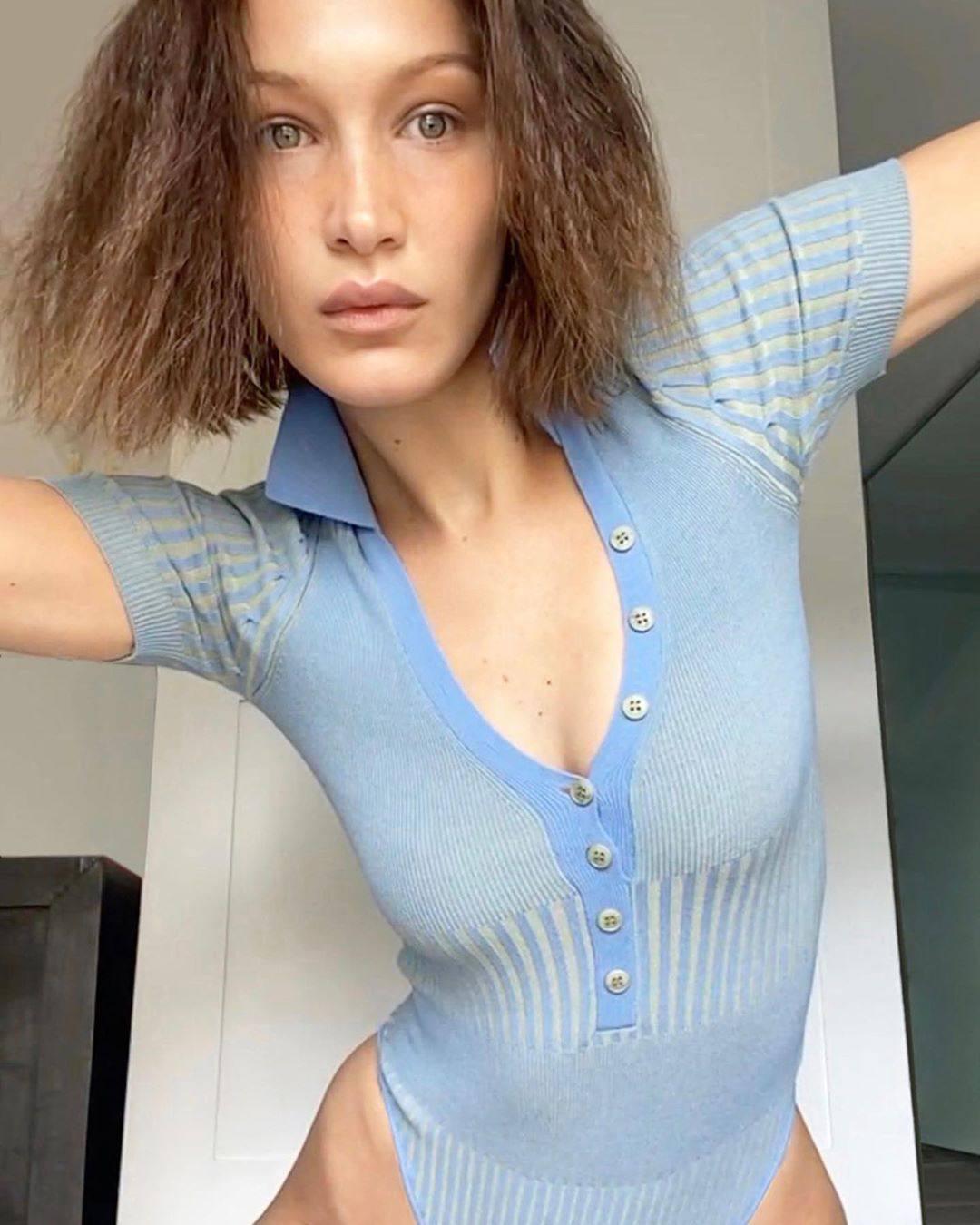Bella Hadid Naked Photoshoot   Hot Celebs Home